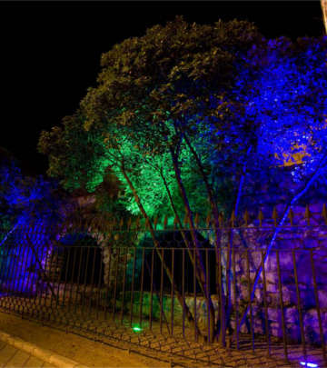 De Rivers of Light-route, Valladolid, verlichten met LED-lampen van Philips Lighting