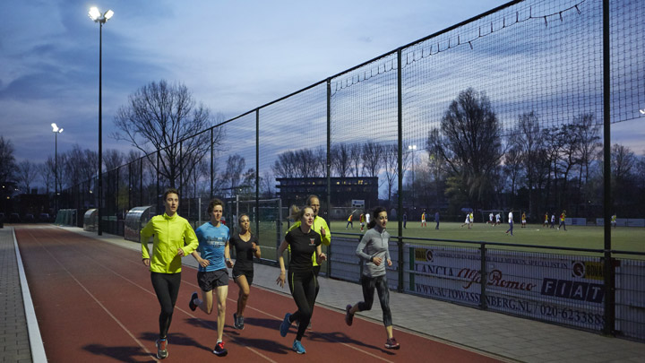 OptiVision LED-schijnwerper - sportvelden en tennisbanen