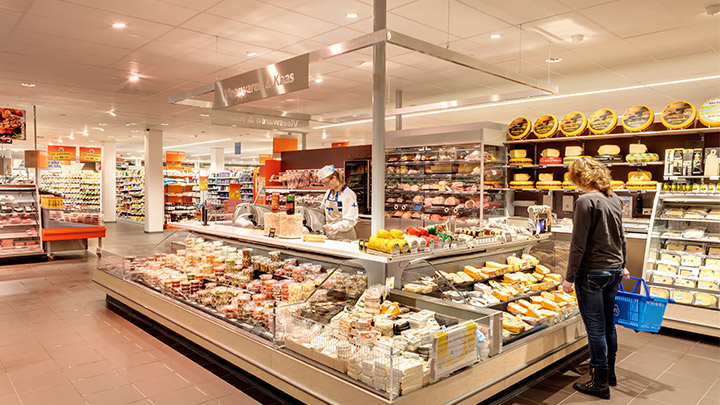 Albert Heijn belichting