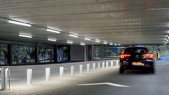 Parkeergarages High Tech Campus Philips Circular Lighting