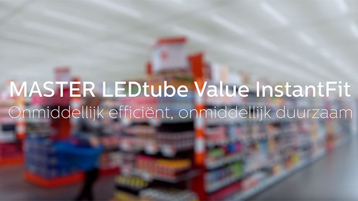 TL vervangen door led met Philips Lighting LED TL verlichting