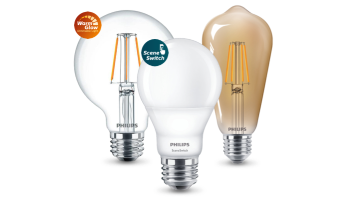 Productassortiment Philips LED-lampen