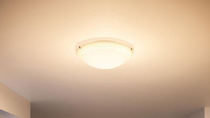 Plafondlamp met Philips LED