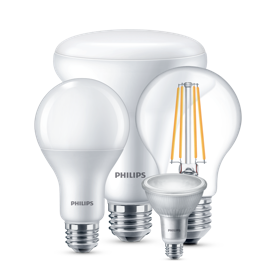Collection d'ampoules LED Philips