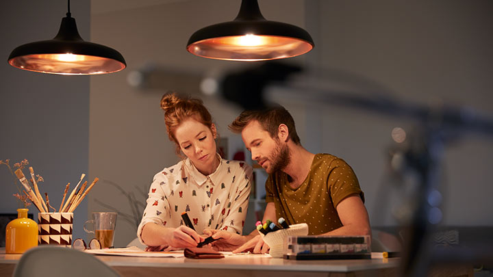 Lustres modernes pour votre maison LED Philips Lighting